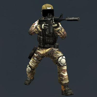 Модели игроков для Ксс